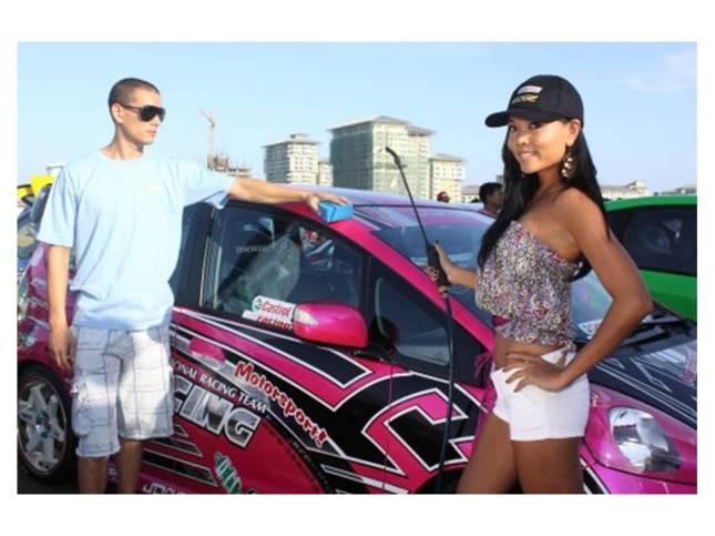 Tisha Silang and Geoff Rodriguez