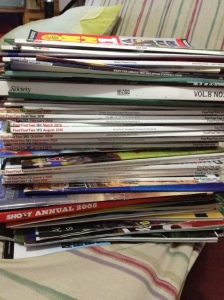 This is not even 1/4 of the magazines I have